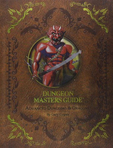Dungeons And Dragons Dungeon Master (Advanced Dungeons & Dragons: Dungeon Masters Guide)
