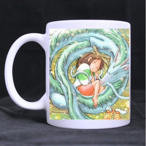 Spirited Away Chihiro and Haku Dragon Custom Morphing Mug