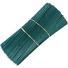 "Royal Imports 12"" Green Wood Plant Stake, Floral Picks, Roasting Sticks, Wooden Sign Posting Garden Sticks (25 Pcs) By"
