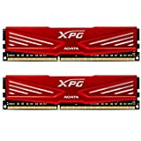 ADATA USA XPG V1.0 OC Series 8GB DDR3 2133MHZ PC3 17000 4GBx2, Red AX3U2133W4G10-DR