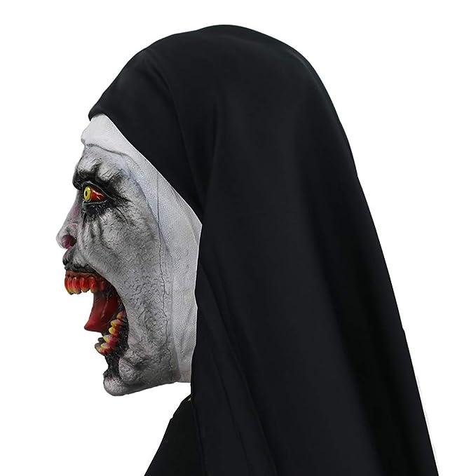 Amazon.com: Máscara de látex para disfraz de Halloween, Uno ...