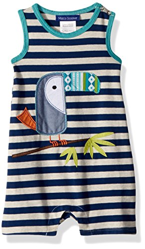 Bonnie Baby Baby Boys Coveralls and Short Sets, blue toucan, 18M ()