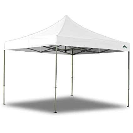 Caravan Canopy 10 X 10 Foot Straight Leg Display Shade Commercial Canopy White  sc 1 st  Amazon.com & Amazon.com : Caravan Canopy 10 X 10 Foot Straight Leg Display ...