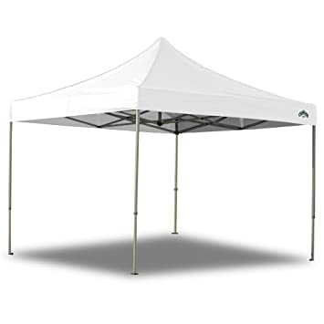 caravan canopy 10 x 10 foot straight leg display shade commercial canopy white - Outdoor Canopies