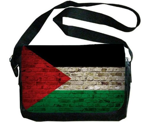 Unisex Messenger Bag Palestinian Retro Flag Crossbody Shoulder Bag