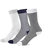 PCEAIIH Women's Lightweight Soft Cotton Thin Dress Socks Crew Business Casual, 3 Pairs, Shoe Size: 6-9/9-12