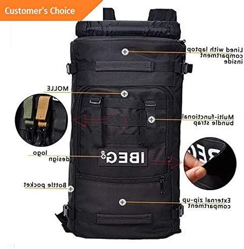482 Kaputar 60L Outdoor Military Tactical Backpack Hiking Camping Pack Travel Shoulder Bag Model BCKPCK