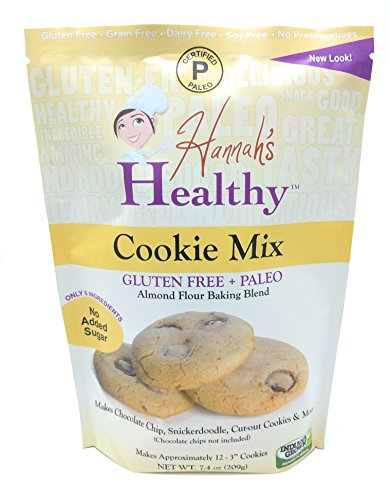 Hannah's Healthy Paleo, Gluten Free Cookie Mix (Best Healthy Flour For Baking)