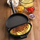 Tuzech Amazing Omelet Pan Poacher Cookware Stove-top Family Kitchen Tool Use Egg Frying Pancake waffle