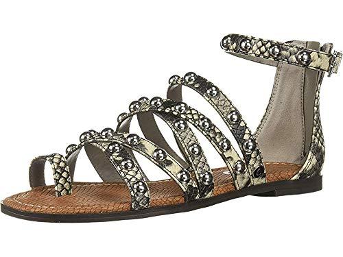 Python Women Sandal - Circus by Sam Edelman Women's Carla Flat Sandal Cashmere Amazon Python 7 M US