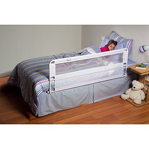 Regalo Hide Away Extra Long Bed Rail, White (2-Pack) by Regalo