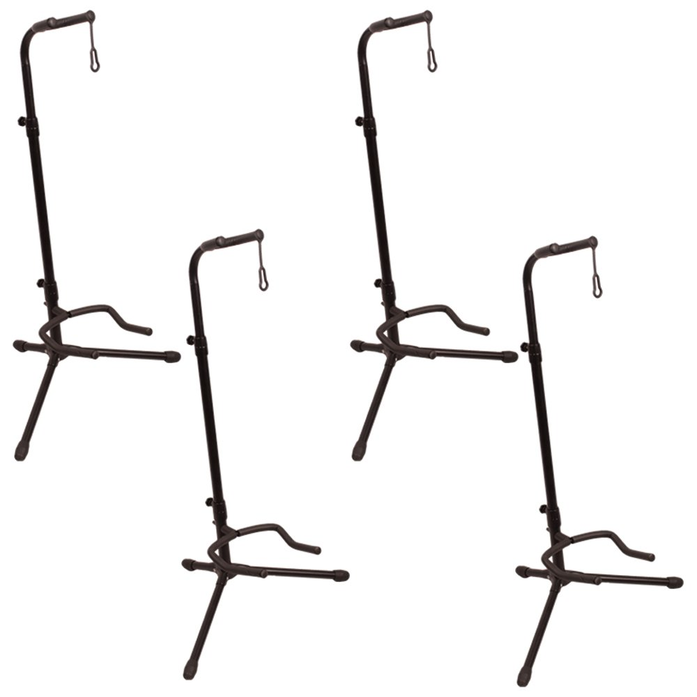 ChromaCast 2-Tier Adjustable Upright Guitar Stand, 2 Pack CC-UGSTAND-2PK