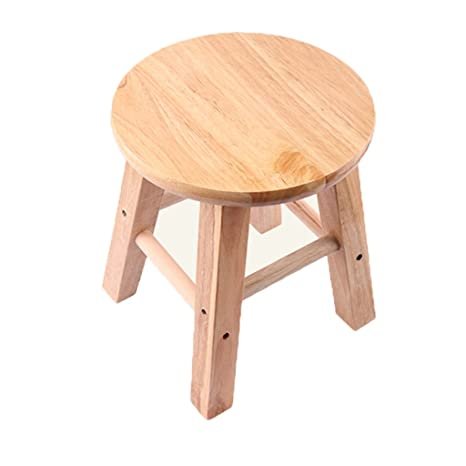 Excellent Amazon Com Liuxueping Solid Wood Small Stool Small Wooden Creativecarmelina Interior Chair Design Creativecarmelinacom