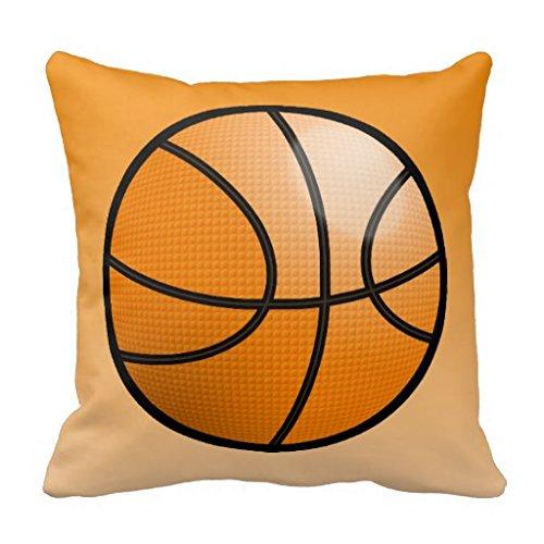 Cartoon balón de baloncesto manta funda de almohada: Amazon ...