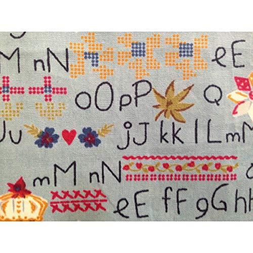 Unique Mouchoir Femme Boutique Blau Alphabet Taille Multicolore r75rwxOq