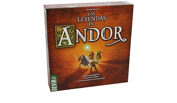 Amazon.com: Devir – The Legends of Andor (bgandor): Toys & Games