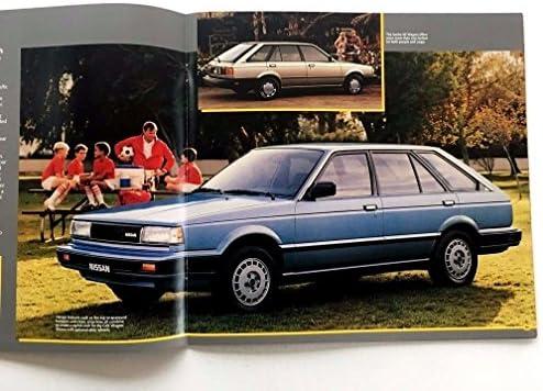 1987 Nissan Sentra and Coupe 20-page Original Car Sales Brochure Catalog