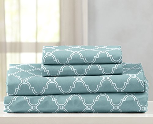 Great Bay Home Printed Egyptian Quality Double Brushed Micro