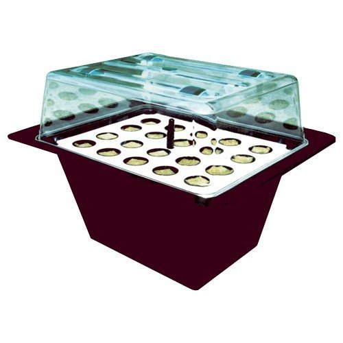 Nutriculture X-Stream, aeroponisches Stecklingsgewächshaus für bis zu 20 Pflanzen, 59 x 46,5 x 44 cm