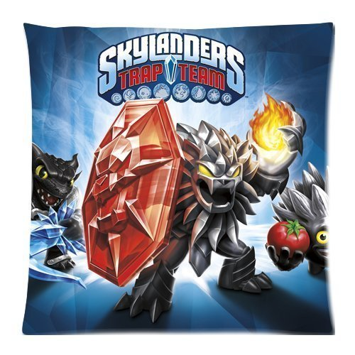 Custom Unique Skylanders Trap Team Zippered Pillow Cases 18X18 (Twin Sides)...