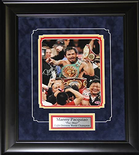 MANNY PACQUIAO BOXING PLAQUE