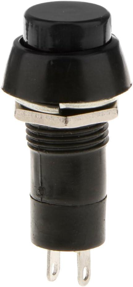 Schwarz Zubeh/ör f/ür Auto Armaturenbrett 1 St/ück Hupe Schalter