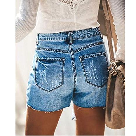 Cocoty-store 2019 Pantalones Cortos Mujer Básicos Gimnasio ...