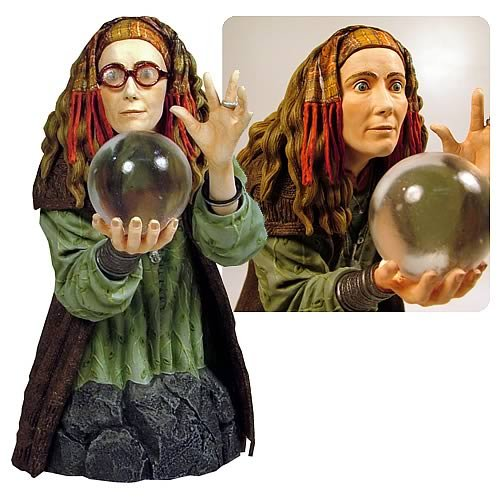 Harry Potter Bellatrix Lestrange Costume (Gentle Giant Harry Potter: Professor Trelawney Mini-Bust)