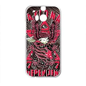 Happy Creative Pattern Custom Protective Hard Phone Cae For HTC One M8