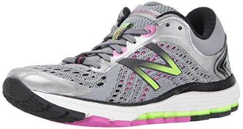 New Balance Women's 1260V7, Dark Grey/Purple, 7.5 2E US