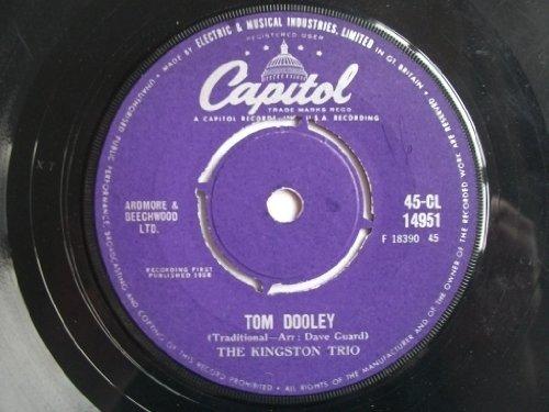 KINGSTON TRIO Tom Dooley / Ruby Red 7