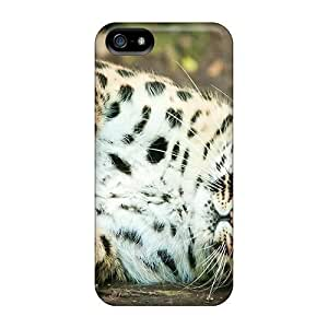 Cynthaskey Snap On Hard Case Cover Wonderful Leopard Protector For Iphone 5/5s