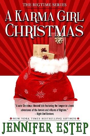 book cover of A Karma Girl Christmas