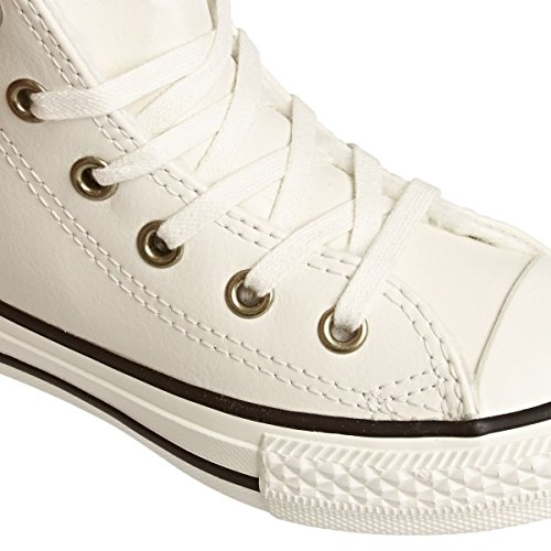 Converse Star Trainers Parchment Leather Taylor Chuck All Shoes Youth black rrYHOq