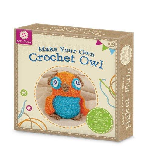 Tobar Make Your Own Crochet Owl Craft 21002