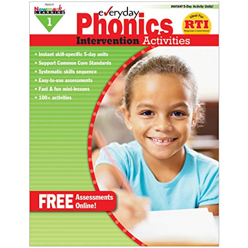 - Newmark Learning Grade 1 Everyday Intervention Activities Aid for Phonics