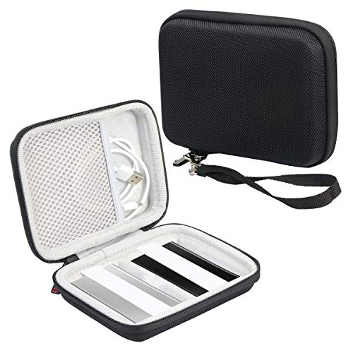 Khanka Hard Travel Case Replacement for Samsung T7 Touch Portable SSD - 500GB 1TB - USB 3.2 (Color Two)