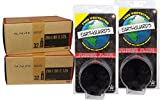 2 PACK - Tube & Tire Liner, 26 x 1.95-2.125 32mm SCHRADER Valve. Replacement tubes with Earthguard tire liners.