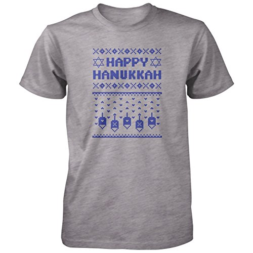 Happy Hanukkah Ugly Adult T-Shirt