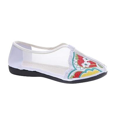 Gtagain Zapatos de Lona Zapatillas Mujeres - Damas Chino ...