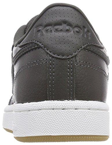 Reebok Unisex-Kinder Club C 85 Estl Sneaker Blau (Coal/white/washed Blue)
