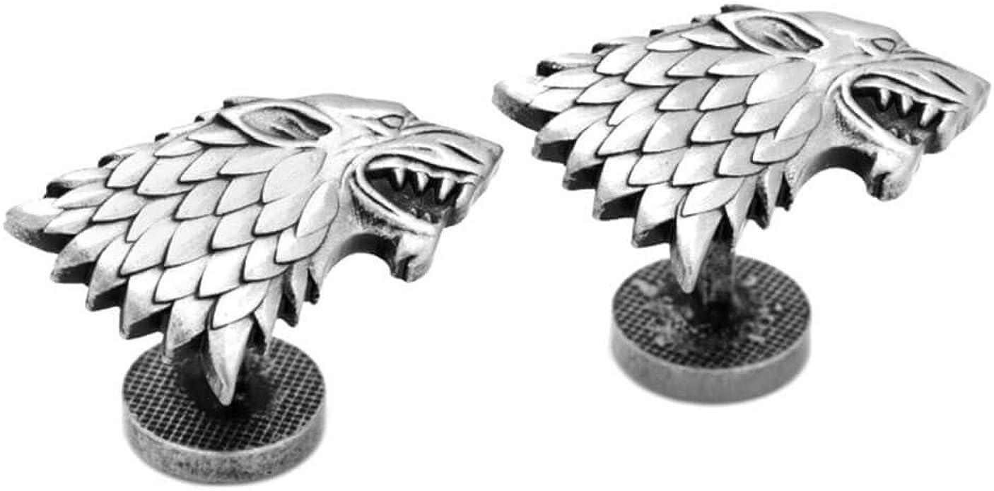 Game Of Thrones Juego de Tronos Gemelos Stark Sigil: Amazon.es: Joyería