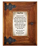 LoveLea Down Home Collection Tabletop Frame, Faith