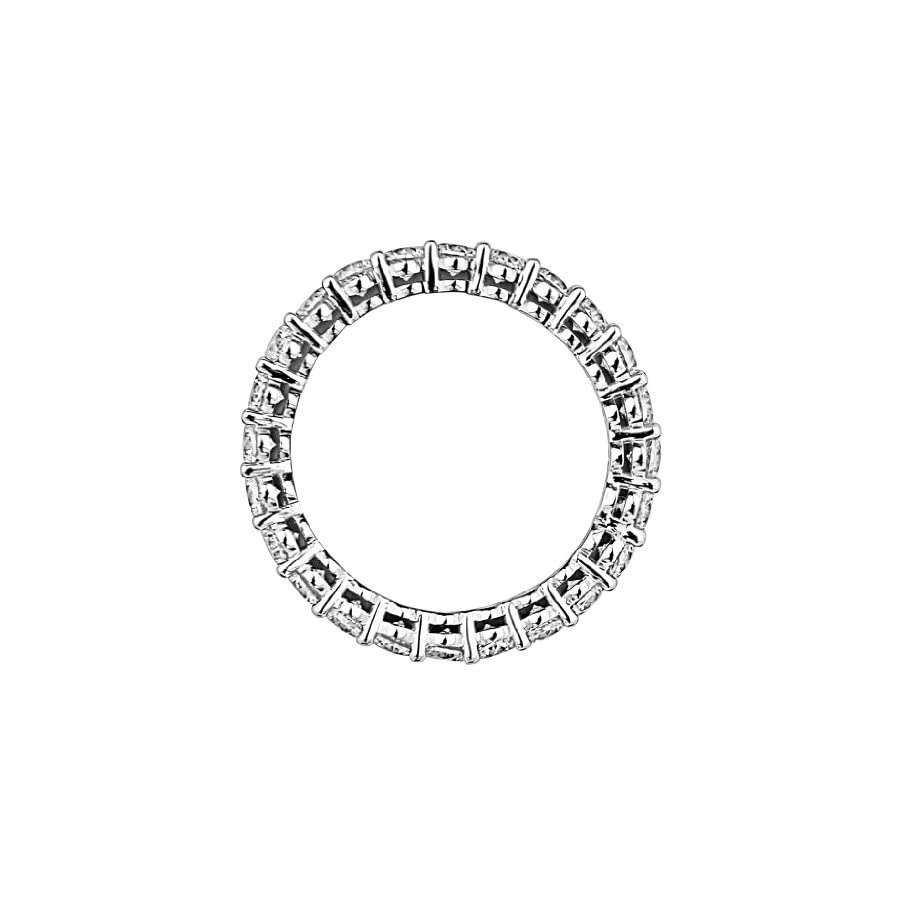 14k Yellow OR White Gold 2.5mm Eternity Wedding Band
