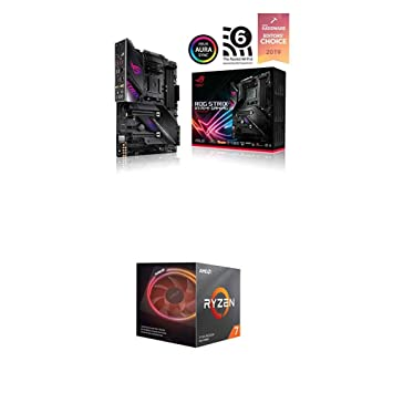 ASUS ROG Strix X570-E Gaming ATX Motherboard and AMD Ryzen 7 3700X 8-Core, 16-Thread