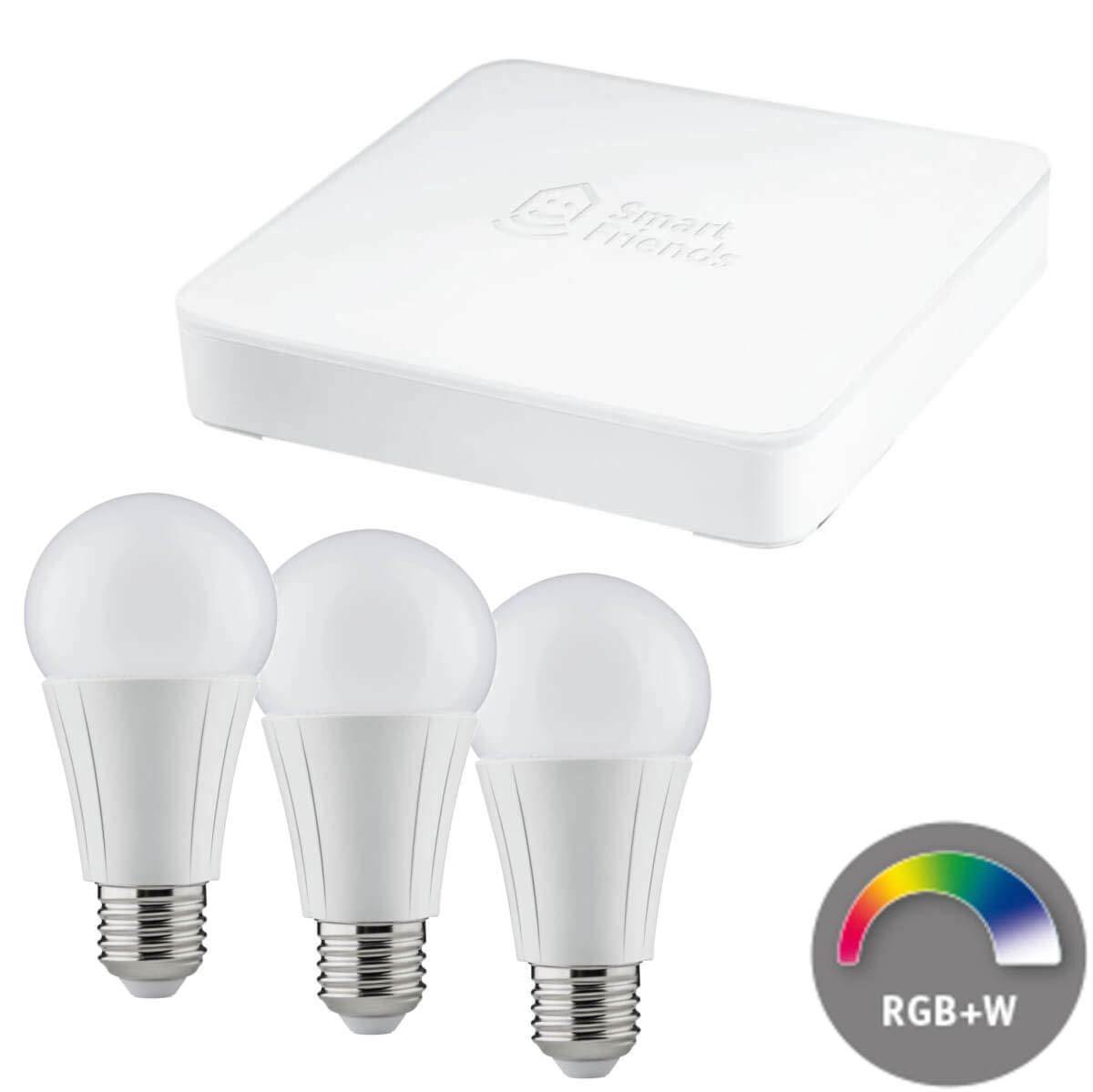 Paulmann Smart Friends LED LED LED Kerze E14 Einsteigerset, Dimmbar, Box + 3 Lampen a4b8d6