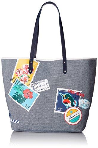 Vera Bradley Beach Tote, Oxford Postage Stamps