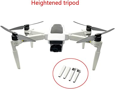 XEDUO Extended Heightning Landing Gear Leg Protector Extension for Hubsan H117S Zino Drone