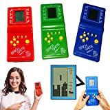 Kids' Toys Educational Tetris Game Hand Held LCD Electronic Toys Brick Game Time-out