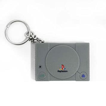 Llavero consola playstation sony, 4 x 3 cm: Amazon.es ...